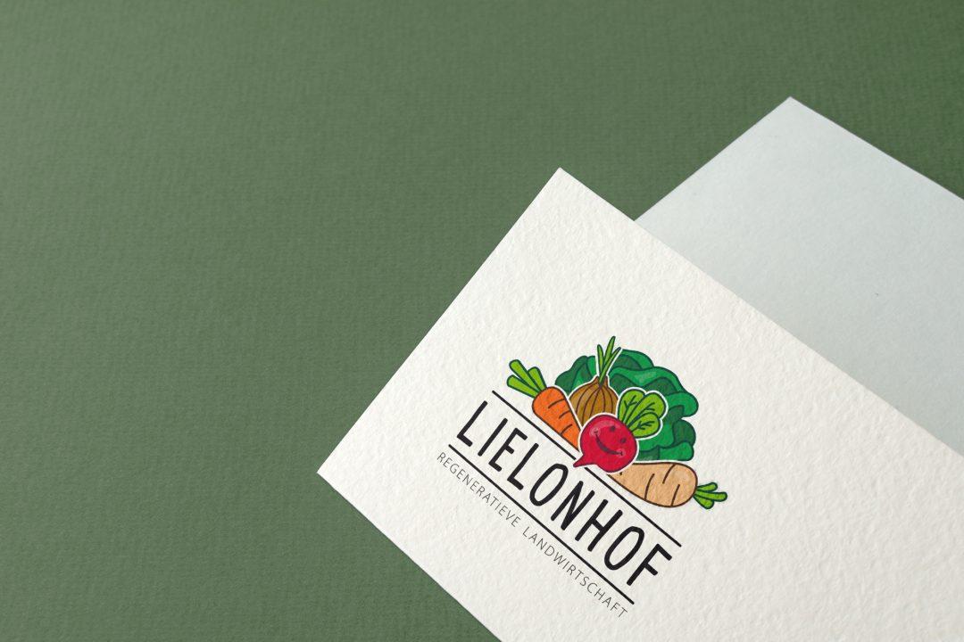 Lielonhof logo en huisstijl