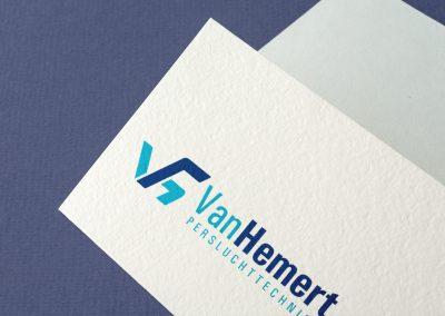 Van Hemert Industrie zakelijke identiteit